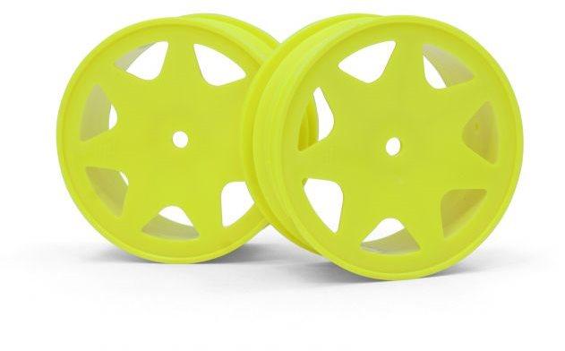 HPI Ultra 7 Wheels, Yellow, 30Mm (2Pcs)
