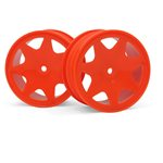 Ultra 7 Wheels, Orange, 30Mm (2Pcs)