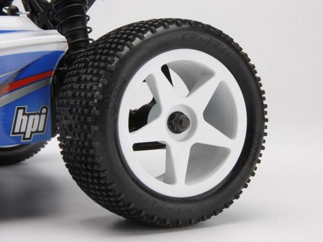HPI Ultra 5 Wheel, White (2.2In/60X38mm/2Pcs)