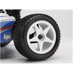 Ultra 5 Wheel, White (2.2In/60X38mm/2Pcs)
