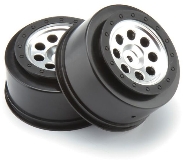 HPI Mk.8 V2 Sct Wheels, Matte Chrome, 4.5Mm Offset (2Pcs)