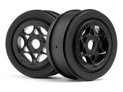 HPI AH-64 Wheel Black 42x83mm (2)