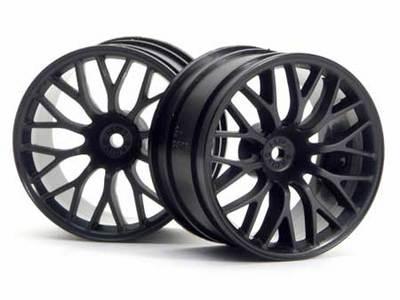 HPI Mesh Wheel Black Super Nitro (2)