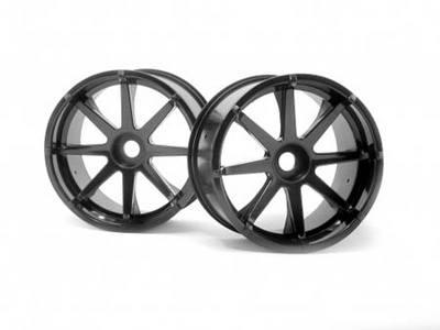 "HPI Blast Wheel Black 115x70mm 7"" (2)"