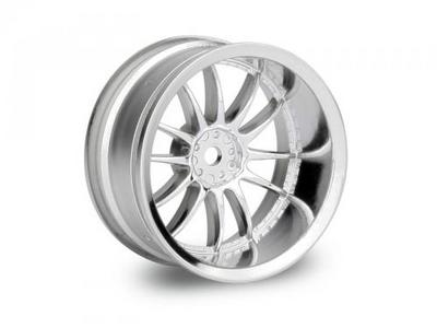 HPI Work XSA Wheel 26mm Chrm 9mm Offset (2)