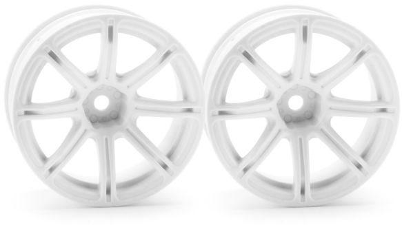 HPI Work Emotion Xc8 Wheel, 26Mm, White, 9Mm Offset