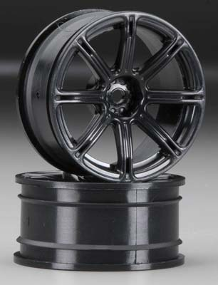 HPI 3306 Work Emotion XC8 Whl 26mm Blk 3mm Offset (2)