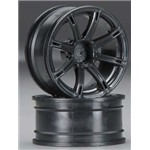HPI 3307 Work Emotion XC8 Whl 26mm Blk 6mm Offset (2)