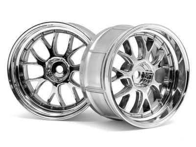 HPI LP32 LM-R Wheel Chrome (2)