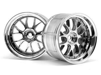 HPI LP35 LM-R Wheel Chrome (2)