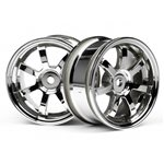 Rays Gram Lights 57S-Pro Wheel, 26Mm, Chrome, 0Mm Offset