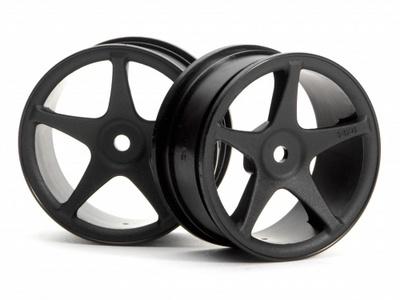 HPI SS Wheel 26mm Black (2)