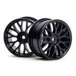 Mesh Wheel, 26Mm, Black, 1Mm Offset