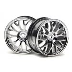 Mesh Wheel, 26Mm, Chrome, 1Mm Offset