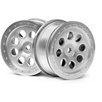 St-8 Wheel, Matte Chrome, 0Mm Offset, (2Pcs)