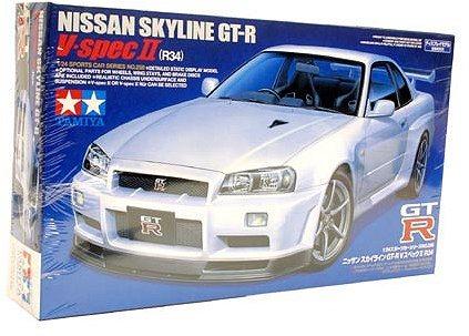 Tamiya 1/24 Nissan Skyline GT-R V-Spec II