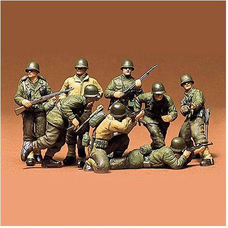 Tamiya 1/35 US Infantry Euro Theater