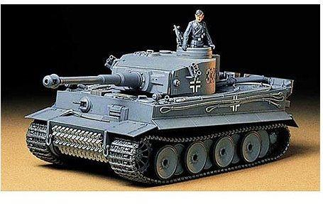 Tamiya 1/35 German Tiger I Early Production