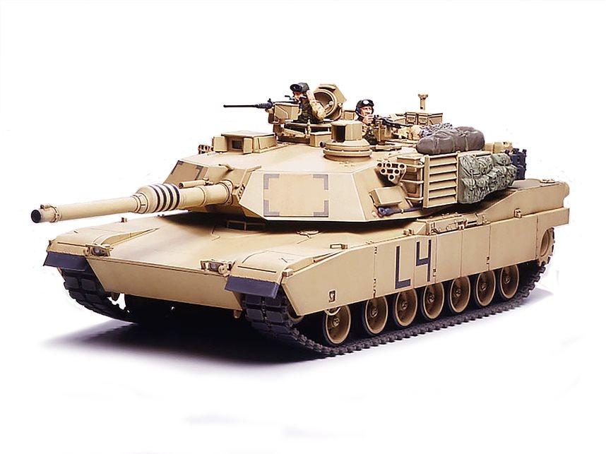 Tamiya 1/35 M1a2 Abrams Main Battle Tank Plastic Model Kit