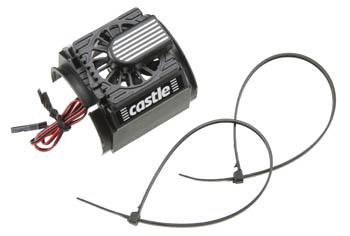 Castle Creations 0400 Cooling Fan/Shroud 1/8th Motors