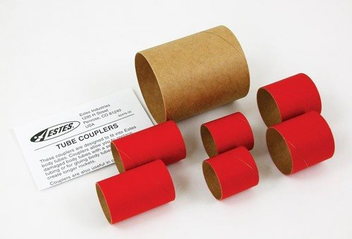 Estes Large Tube Coupler Pack, For Model Rockets
