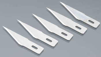 Excel Hobby Blades Corp. Super Sharp Straight Edge Blade (5)