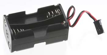 Tactic 4 Cell AA Battery Holder w/Fut J Connector