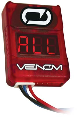 Venom Racing Low Voltage Battery Monitor 2-8S