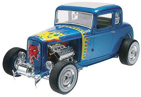 Revell 1/25 \'32 Ford 5 Window Coupe