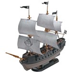 1/350 Snap Pirate Ship Black Diamond