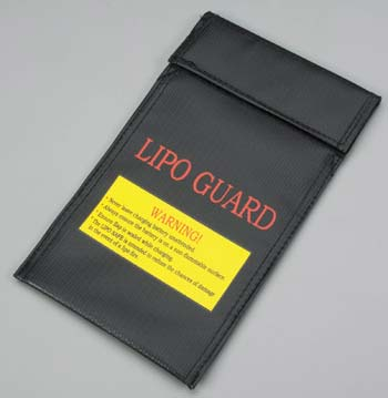 Integy LiPo Guard Safety Battery Bag Charging/Storage