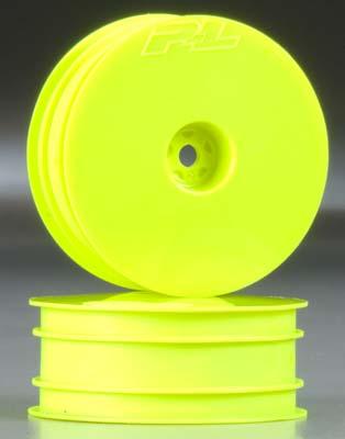 "Proline Velocity 2.2\"" Hex Fr Ylw Whls w/12mm Hex (2)"