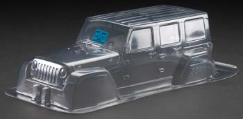 Proline Jeep Wrangler Unlimited Rubicon Clear Body