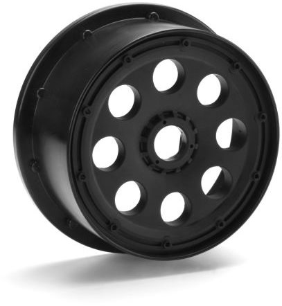 HPI Outlaw Wheel, Black, 120X60mm/-4Mm Offset, (2Pcs), Baja 5Sc/T