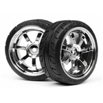 Mounted T-Grip Tire 26mm Rays 57S-PRO Whl Chr