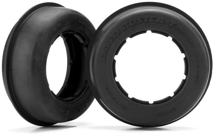 HPI Sand Buster-T Paddle Tire, M Compound, 190X70mm, (2Pcs), Baja 5S