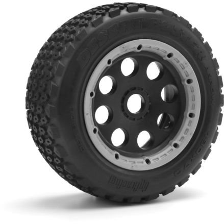 HPI Desert Buster Arrow Tire Hd Comp, 190X70mm, (2Pcs), Baja 5Sc/T