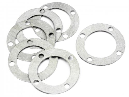 HPI Differential Case Washer, 0.7Mm, (6Pcs), Savage X
