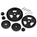 Spur Gear / Differential Gear Set (75T/87T/48P), Formula Ten