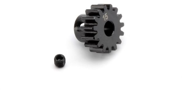 HPI Pinion Gear, 15 Tooth (1M/5Mm Shaft)