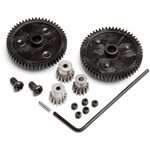 Spur Gear Set (2Pcs) & Pinion Gear Set (3Pcs), Recon