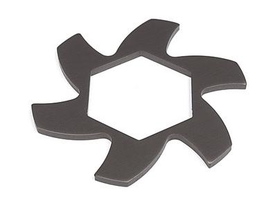 HPI Brake Disk Fin Plate Gunmetal Baja 2.0