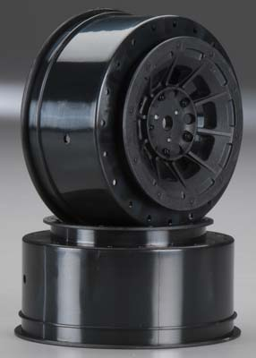 J Concepts Hazard 3mm Wider 12mm Hex Whl SC10/4x4 Blk (2)