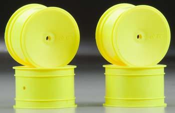 J Concepts Mono B4.1/B44.1/RB5 12mm Rear Wheel Yellow (4)