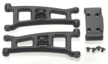 RPM Fr A-Arms/Bulkhead Black GT2 (2)