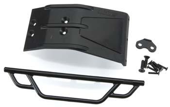 RPM Front Bumper/Skid Plate Black Losi Ten SCTE