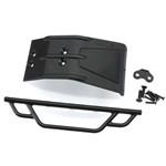 Front Bumper/Skid Plate Black Losi Ten SCTE