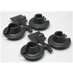 Spring Cups Lower Blk TRA Nitro Slash/Rally 4x4(4