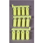 Heavy Duty Rod Ends Yellow 4-40 (12)