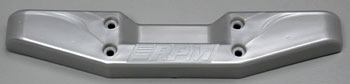 RPM Rear Step Bumper Metallic Silver T/E-Maxx